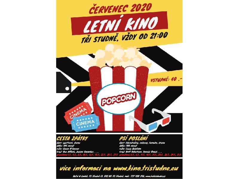 Letní kino Tři Studně - červenec 2020